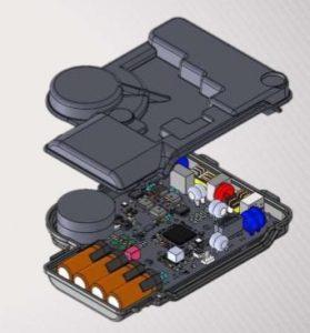 Plastic behuizing Enphase micro-omvormer
