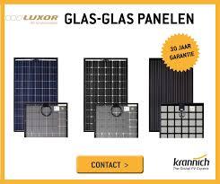 Glas-glas zonnepanelen uitgelegd