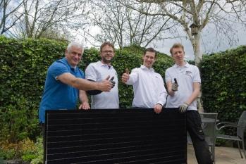 Zonnepaneel-installateurs