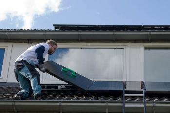 Zonnepaneel-installateur