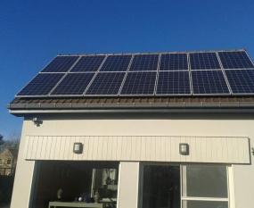 Schuin dak zonnepanelen