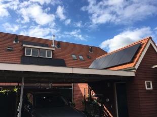 Zonnepanelen twee dakvlakken