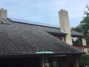 Zonnepanelen schuin dak